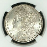 1902-O MORGAN SILVER DOLLAR  NGC MINT STATE 65 WOW BEAUTIFUL COIN REF57-008