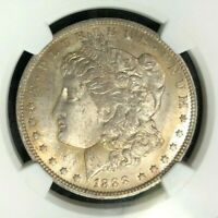 1888-O MORGAN SILVER DOLLAR  NGC MINT STATE 63 WOW BEAUTIFUL COIN REF53-035