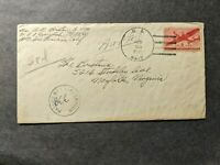 SUBMARINE USS LIONFISH SSN 298 NAVAL COVER 1945 CENSORED WWI
