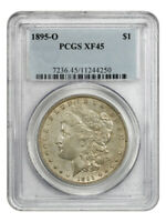 1895-O $1 PCGS EXTRA FINE 45 - KEY DATE FROM NEW ORLEANS - MORGAN SILVER DOLLAR