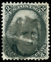 MOMEN: US STAMPS 103 USED XF SUP APP. 2 PF CERTS CAT. $15 000
