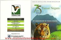 MALAYSIA 2014 75TH ANNIVERSARY PREMIER NATIONAL PARK NORDIC GOLD  B.U