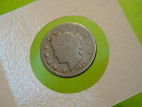 USA NICKEL LIBERTY 5 CENTS 1911 A29 8403