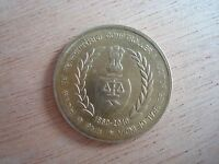 1880 2010 COMPTROLLER & AUDITOR GENERAL OF INDIA 5 RUPEES COIN