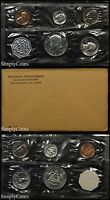 1964 PROOF SET WITH COA   FLAT PACK ORIGINAL ENVELOPE   US SILVER MINT COIN SET