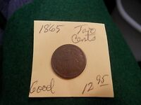 1865 TWO CENT PIECE -  GOOD