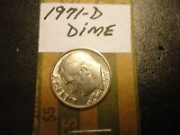 1971 D  ROOSEVELT DIME   WE COMBINE SHIPPING