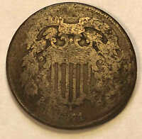 1871 TWO CENT BETTER DATE SHIPS FREE