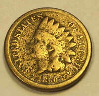 1860 CN INDIAN CENT LINCOLN ELECTION NICE