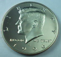 1996 S UNITED STATES KENNEDY HALF DOLLAR PROOF STRIKE