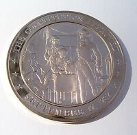 1787 U.S. CONSTITUTION APPROVED   FRANKLIN MINT SOLID BRONZE UNCIRCULATED