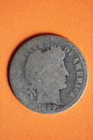 1899 P BARBER DIME NICE DETAILS EXACT COIN PICTURED $1.99 FLAT RATE SHIPPING 043
