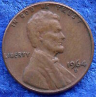 USA   1 CENT 1964 D KM 201 AMERICA COIN