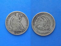 1870 S 50C SEATED LIBERTY HALF DOLLAR MORE PHOTOS BELOW ITEM DESCRIPTION