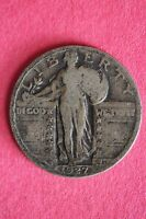 1927-P STANDING LIBERTY QUARTER 90 SILVER $1.99 FLAT RATE SHIPPING COIN 172