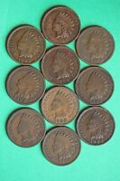 1899 1900 1901 1902 1903 1904 1905 1906 1907 1908 INDIAN HEAD CENTS PENNIES 48