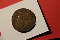 UK GB PENNY 1928 NICE DETAILS A41 1633