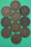 1897 1898 1899 1900 1901 1902 1903 1905 1906 1907 INDIAN HEAD CENTS PENNIES 08