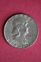 1954 P BEN FRANKLIN HALF DOLLAR HALVE BETTER CONDITION FLAT RATE SHIPPING 031