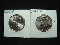 2013 P AND D KENNEDY HALF SET UNCIRCULATED NR