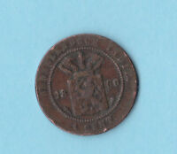 NETHERLANDS EAST INDIES .CENT 1860.NOT SENT TO URUGUAY AND COSTA RICA