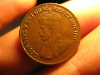 1927 CANADA  KEY DATE PENNY SMALL CENT COIN.