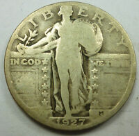 1927 UNITED STATES STANDING LIBERTY QUARTER GOOD CONDITION