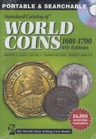 2014 WORLD COINS 1601 1700 6TH ED CD EDITION COLLECTOR PRICE GUIDE MAC OR PC