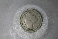 USA LIBERTY 5 CENTS 1902 A50 K7995