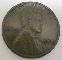 1928 LINCOLN CENT COIN 1222C