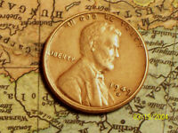 1949 D  @  LINCOLN WHEAT PENNY