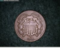 1866 TWO CENT   66-114