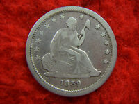 1839  U.S. SEATED QUARTER   VAR. I   EARLY UNITED STATES TYPE COIN