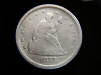 1875 S U.S. TWENTY CENT PC.   NICE EXAMPLE OF A  & UNUSUAL COIN