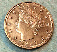 1905 LIBERTY NICKEL PROOF BEAUTY SHARP 2,152 MINTED  SHIPS FREE