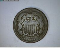 1865  TWO CENT CIVIL WAR COIN   8-107
