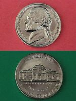 1991 D BRILLIANT UNCIRCULATED THOMAS JEFFERSON NICKEL FLAT RATE SHIPPING