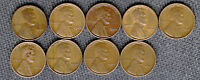 1944 S LOT OF 9 COINS LOW SHIPPING LOT 1