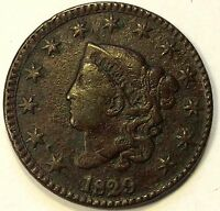 1829 LARGE CENT N1 R3  VARIETY SHARP NICE