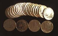 ONE 1 1976 P BICENTENNIAL J F KENNEDY 24 KARET GOLD PLATED HALF DOLLAR COIN