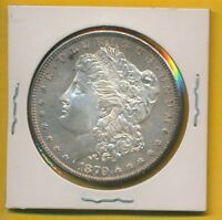 MORGAN DOLLAR 1879-S BU GEM 418