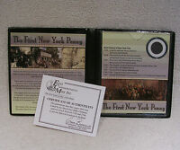 THE FIRST NEW YORK PENNY   1766 COPPER DUIT   COIN COMMEMORATIVE