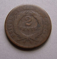 1864 TWO CENTS