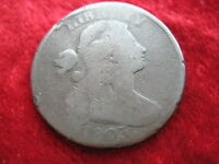 1803 DRAPED BUST U.S. LARGE CENT WITH QUITE BOLD DATE ORIGINAL