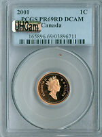 1994 CANADA CENT PCGS MAC PR69 UHCAM ULTRA HEAVY CAMEO FINEST GRADED