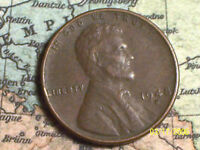 1948 D  @  LINCOLN WHEAT PENNY