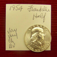 1954 FRANKLIN HALF DOLLAR   CHOICE BU