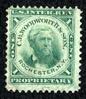 DR JIM STAMPS OLD US BOB PRIVATE DIE SCOTT RT20B 1C C B WOODWORTH & SON