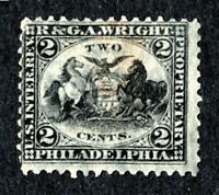 DR JIM STAMPS OLD US BOB PRIVATE DIE SCOTT RT23A 2C R & G A WRIGHT NO RESERVE