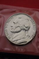 1981 P BU JEFFERSON NICKEL IN CELLO EXACT COIN PICTURED FLAT RATE SHIPPING 19